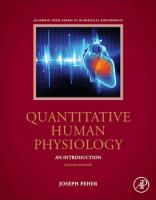 Quantitative Human Physiology: An Introduction, 2nd ed.
