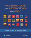 Data Structures and Abstractions with Java, 5th ed.