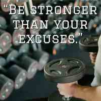 """""""Be stronger than your excuses."""""""