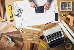 Construction Engineer's Desk