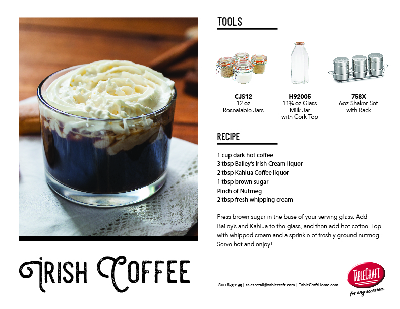 Irish Coffee recipe image