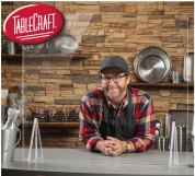 TableCraft Safety Sheilds to keep employees and patrons safe