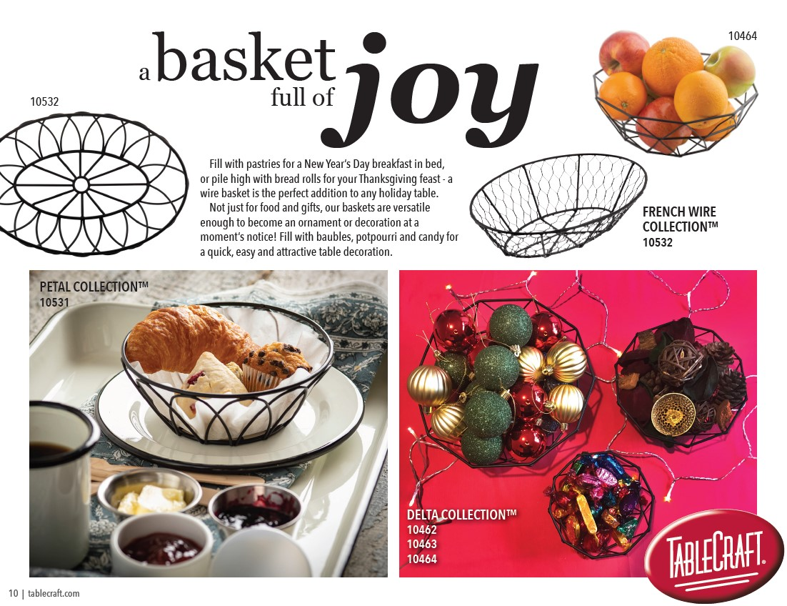 gift baskets for the holidays from TableCraft