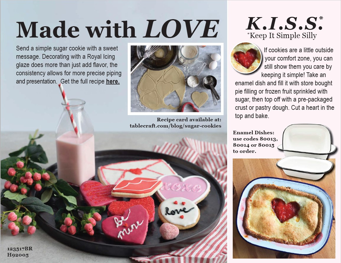 Made with love Valentine's Day look book fs