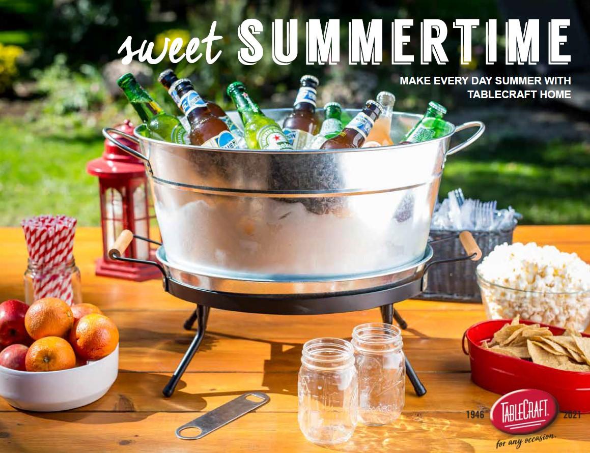Sweet Summertime Look Book Retail TableCraft