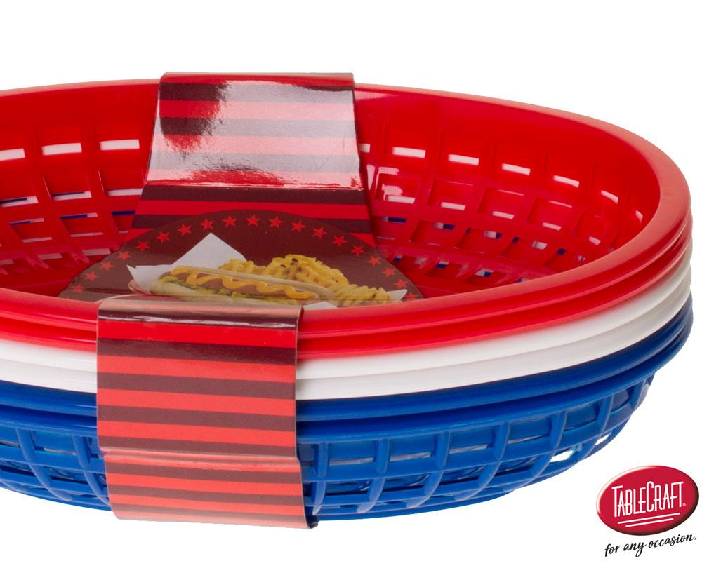 Plastic Baskets BBQ1074RWB