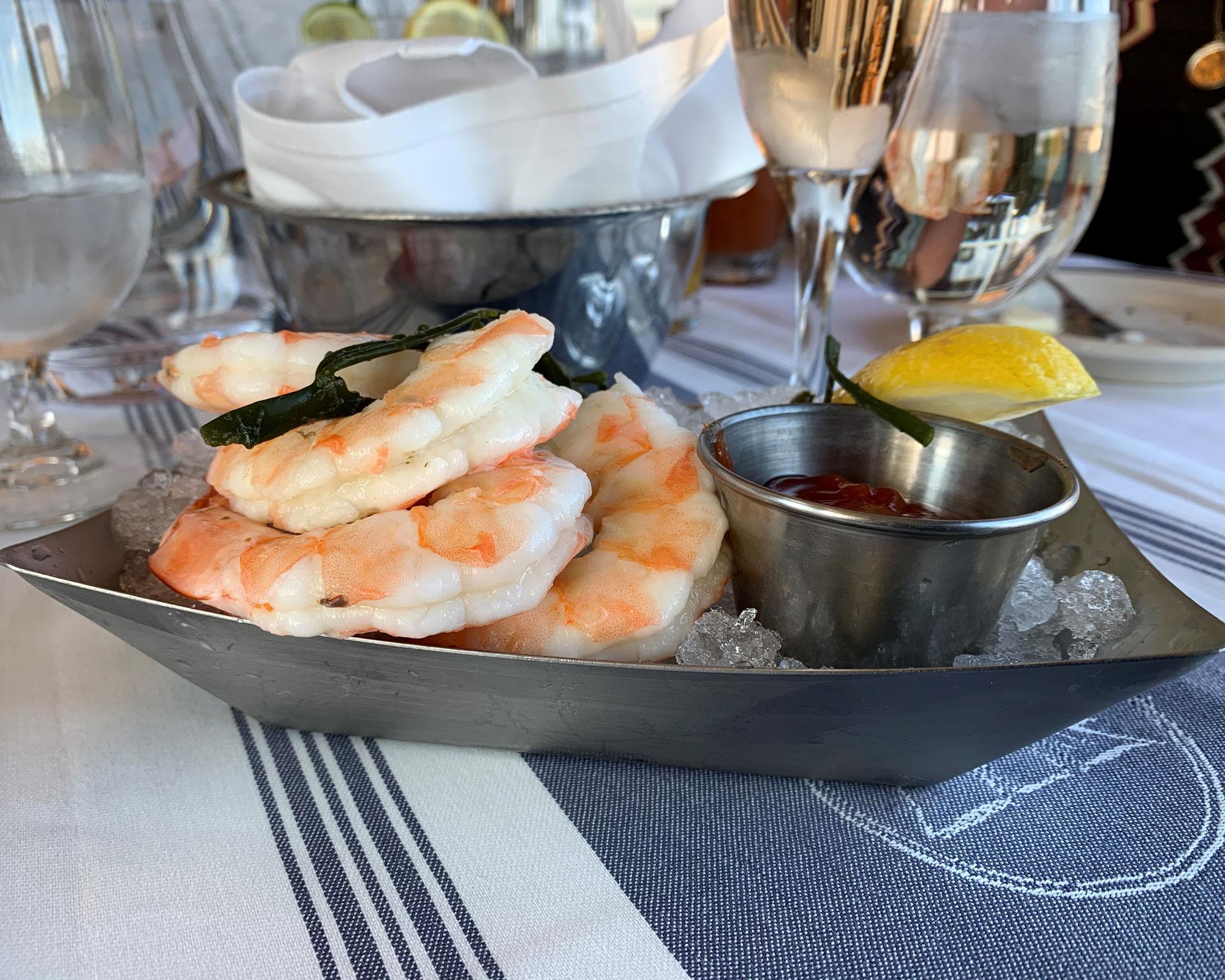 shrimp boat side with Better Burger side server