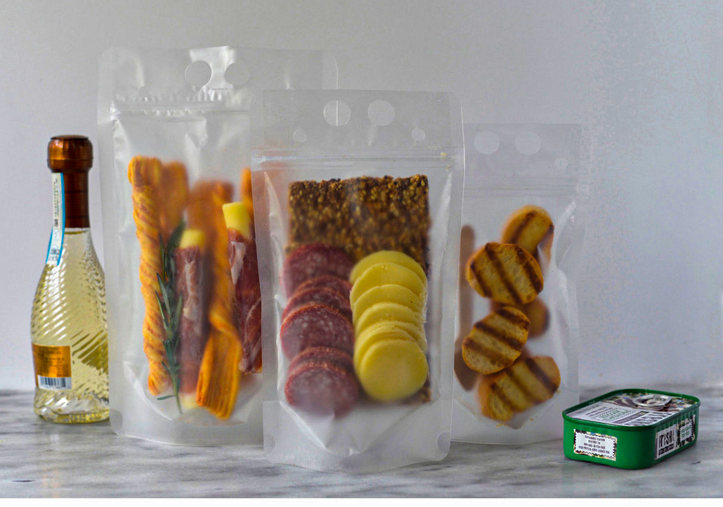 Charcuterie TO GO with our To-Go Pouches
