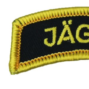 Patch Tab JÄGARE Yellow close up