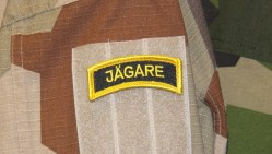 Jägare Tab Patch Yellow Black with Velcro
