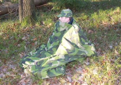 Field tarp Poncho M90 warming up bag