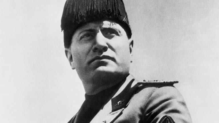 Benito Mussolini, italijanski fašistični diktator