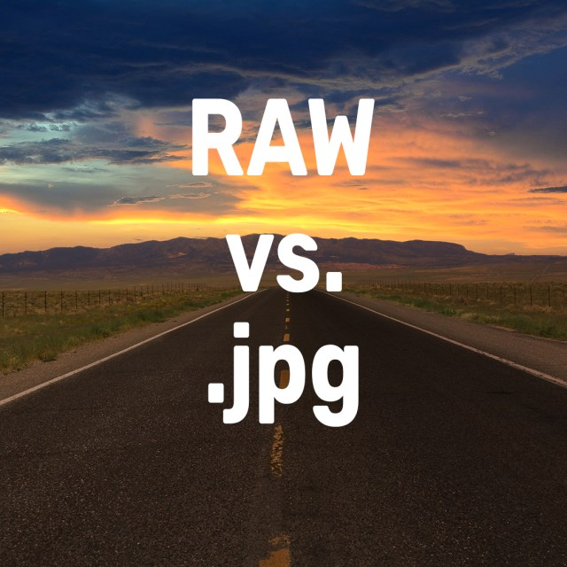 What is the difference between RAW and .jpg?