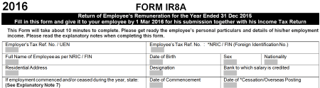 IR8A Form 1