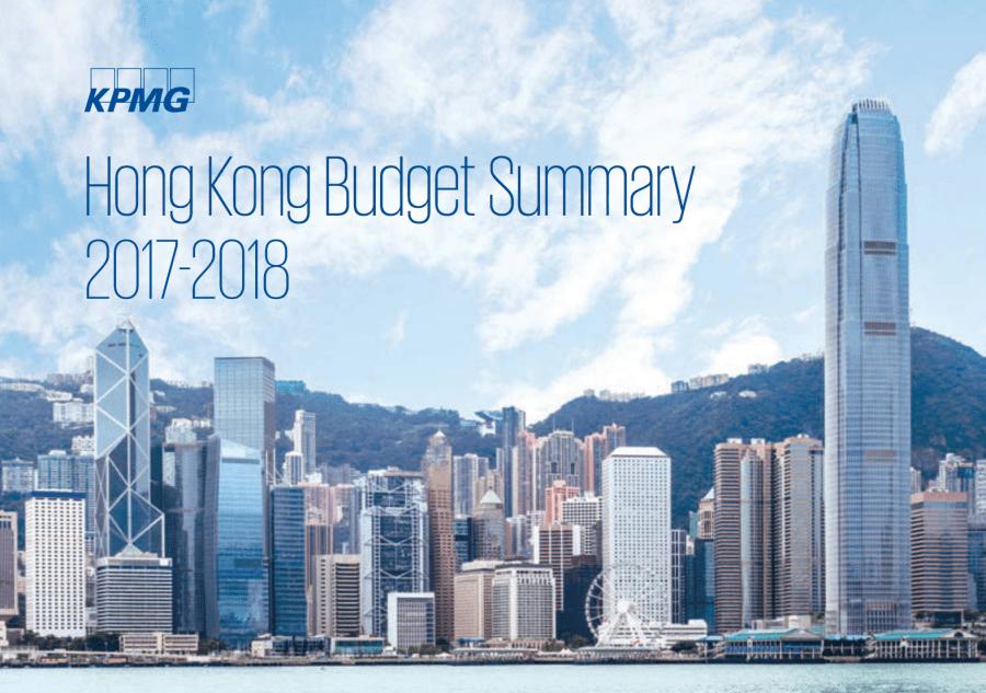 kpmg budget summart