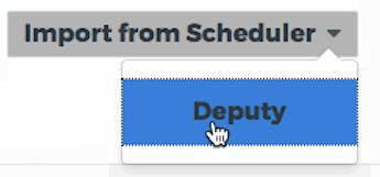 import from deputy scheduler