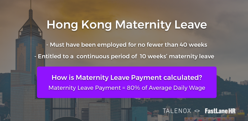 Hong Kong Maternity Leave Conditions