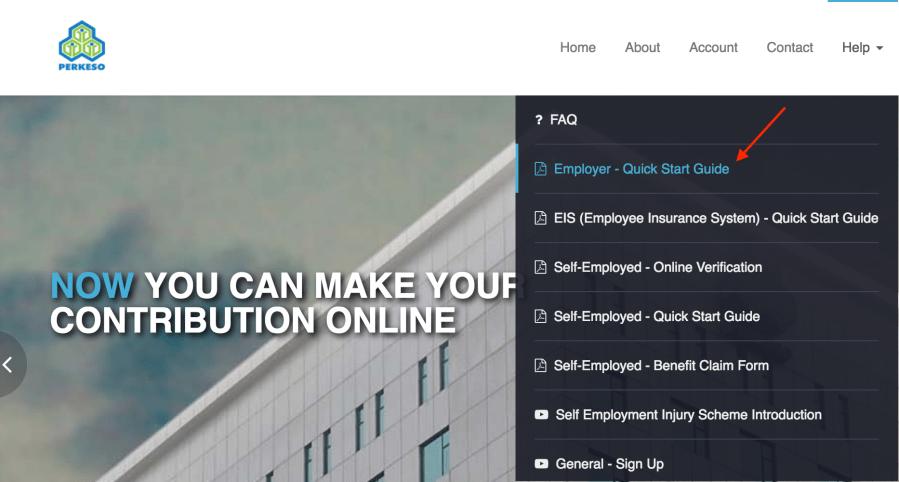 screenshot of iPERKESO site