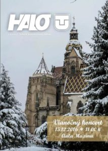 Halo TU Magazine cover - Talented Europe