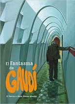 novela gráfica el fantasma de gaudí