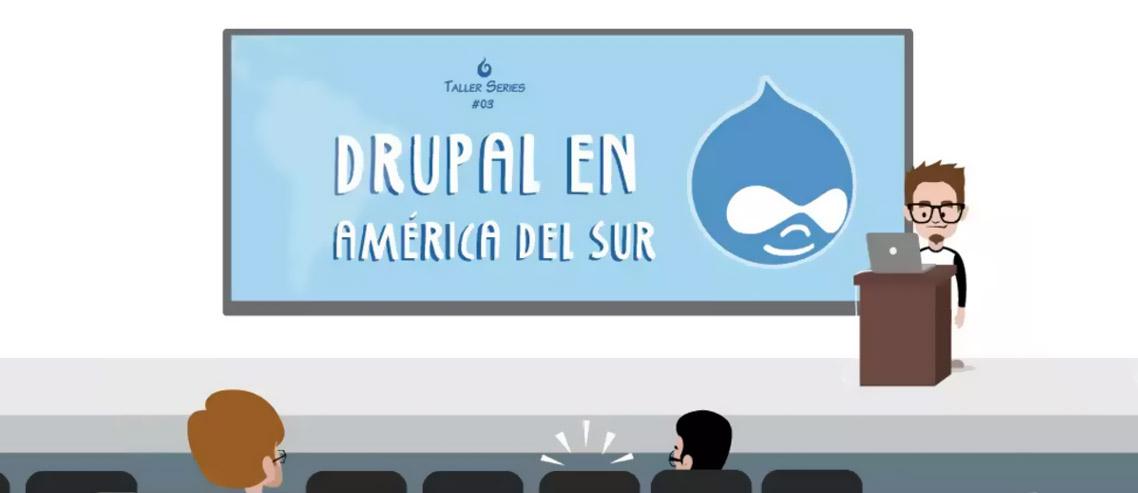 Infocomic Drupal en América del Sur