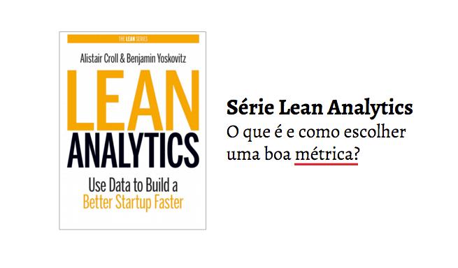 Série Lean Analytics