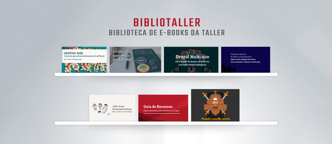 Bibliotaller: biblioteca de e-books da Taller