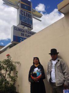 Raul y su esposa