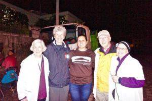 Veronica with Tandana board members