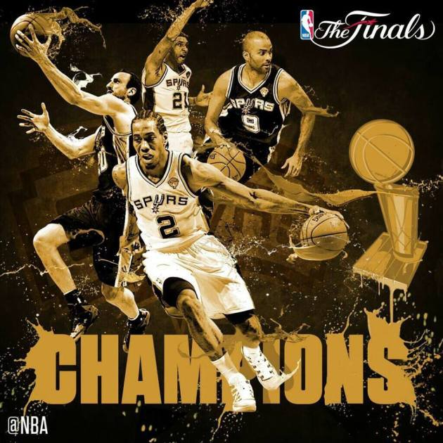 2014 NBA Şampiyonu