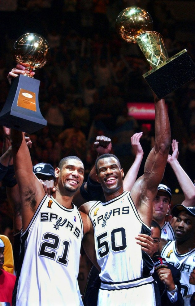 Tim Duncan & David Robinson