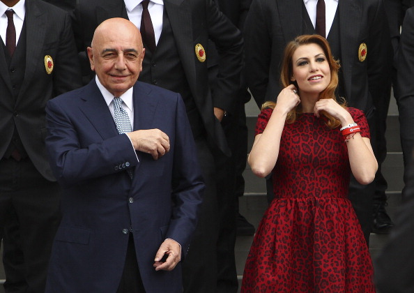 Kulüp CEO'ları Galliani ve Barbara Berlusconi