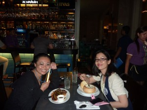 Big Bang Galaxy Alive Tour Manila - after-show dinner with props