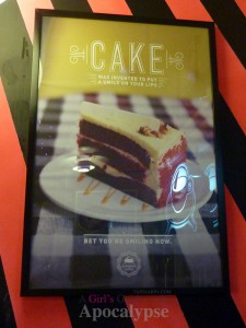 Cake was invented to put a smile on your lips. Subspace Coffee House.