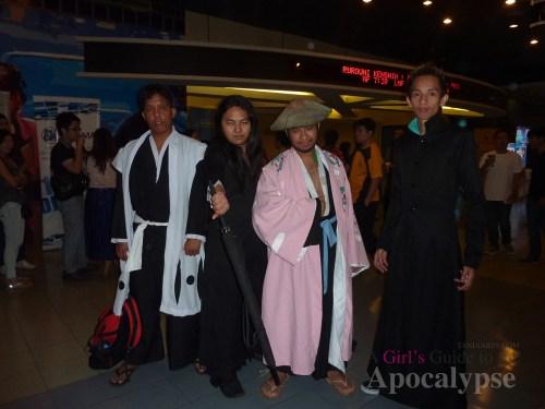 Rurouni Kenshin cosplayers