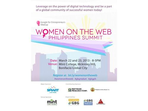 Women on the Web Philippines Summit