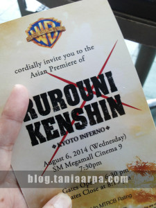 Rurouni Kenshin Asian Red Carpet Premiere Manila