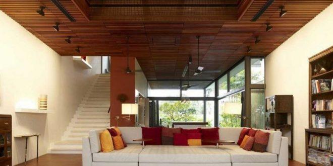 الإضاءة كيفية تركيب الاسقف المعلقة الخشبية