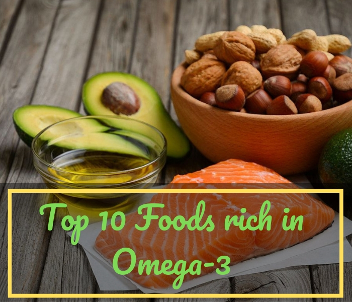 Top 10 Foods rich in Omega-3