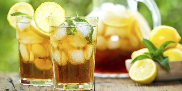 Lemongrass Jasmine Iced Tea.