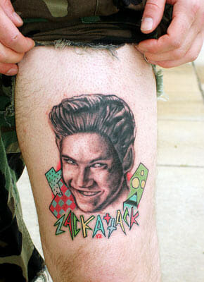Saved by the Bell Tattoo