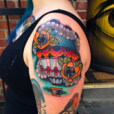 Shoulder Piece by Mike Stockings