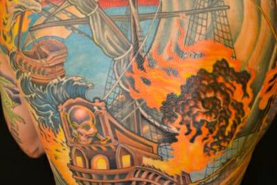 Tattoo Artist Champ Grubbs