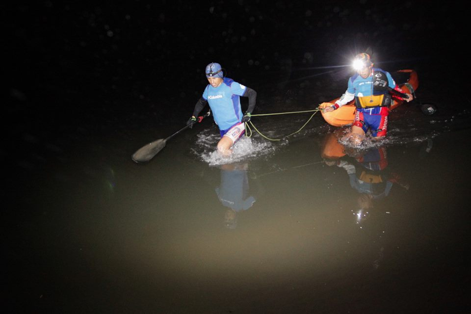 Fin Kayak Nocturno