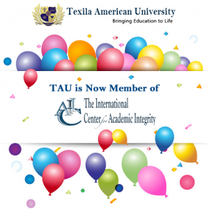 Texila American University is a member of International Center for Academic Integrity (ICAI)