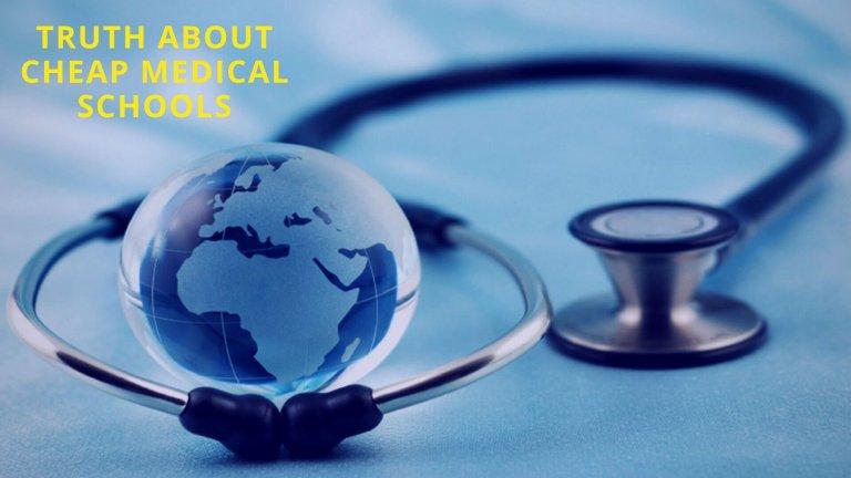 Cheap medical schools abroad