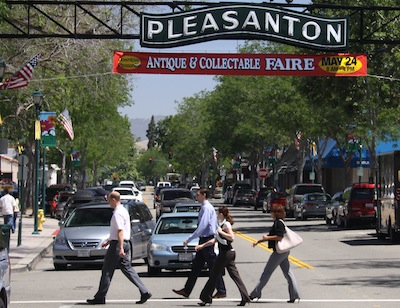 recruitments for the city of Pleasanton