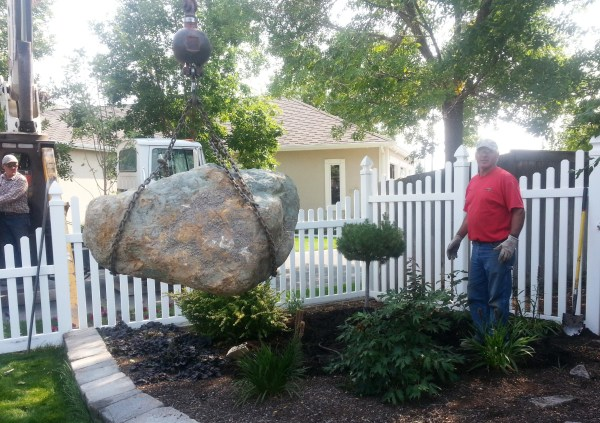 rocks in garden purpose