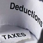 Deduction tax
