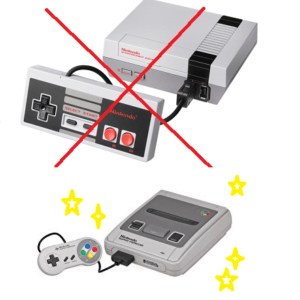 nintendo nes both